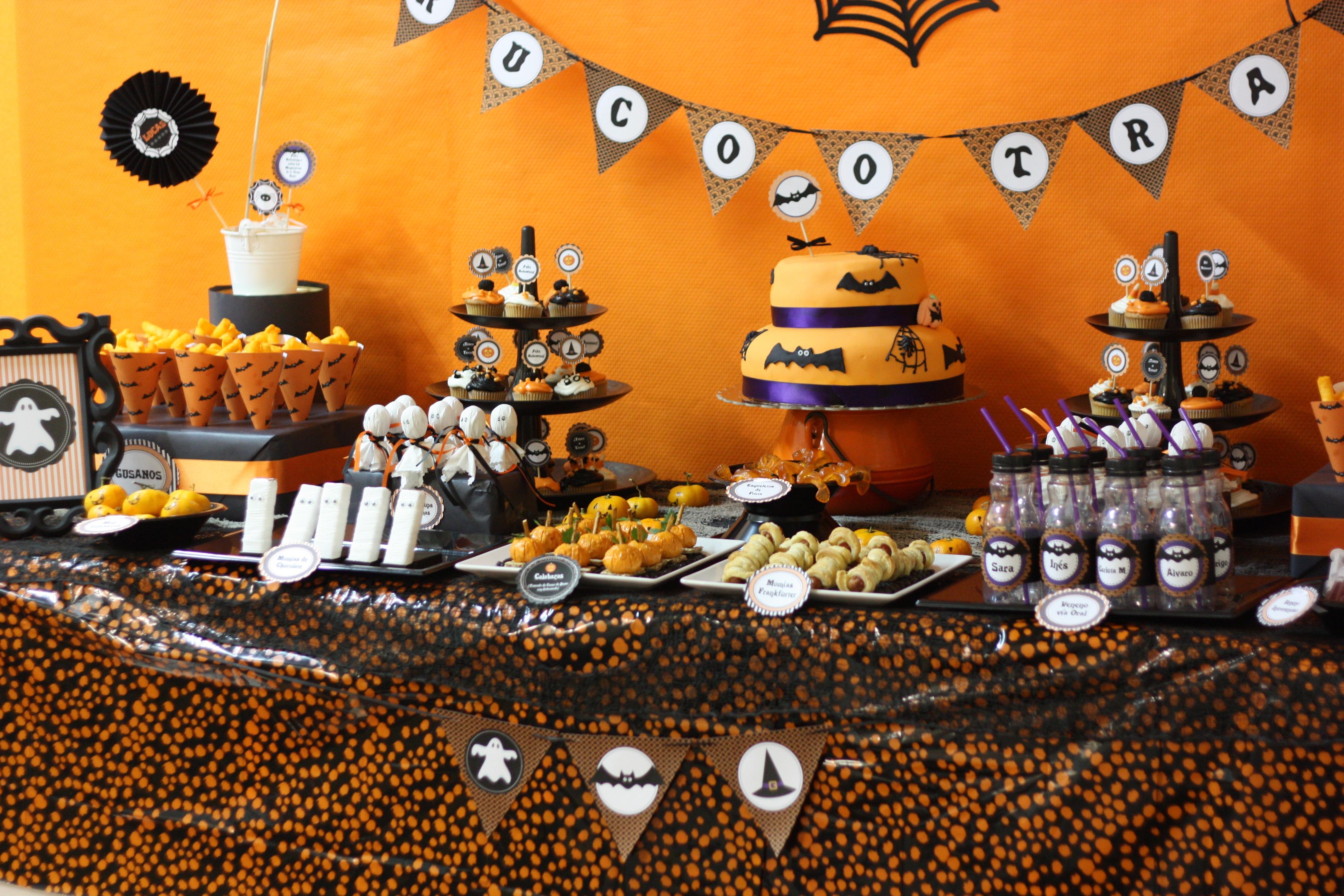 Una fiesta de halloween en gran canaria la cocottela cocotte - Fiesta halloween infantil ...