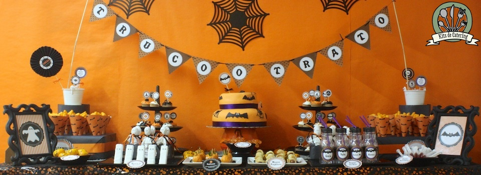 Halloween Table Mesa Catering