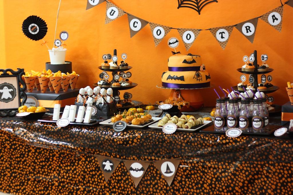 mesa fiesta halloween ideas